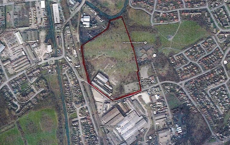 Vacant Land North of Darkhouse Lane, Coseley, West Midlands, WV14