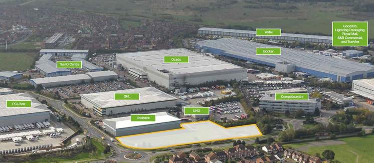 Hatfield Business Park, Hatfield, J3 & 4 A1(M)