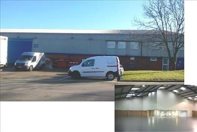 TO LET INDUSTRIAL/WAREHOUSE END OF TERRACED UNIT WITH FIRST FLOOR OFFICES. Unit 22, Silverwing Industrial Estate, Imperial Way, Croydon, Surrey