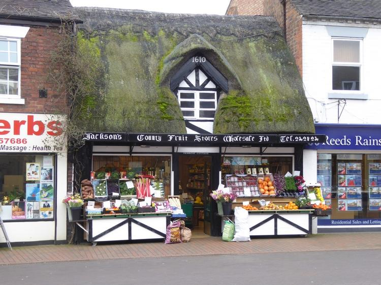 County Fruit Stores, 10 Mill Street, Stafford