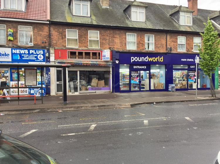 DAGENHAM - PROMINENT SHOP PREMISES- TO LET
