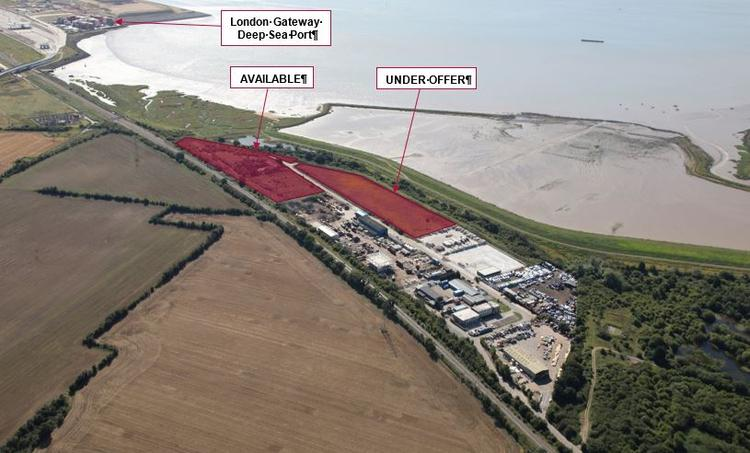 Land at Stanhope Industrial Estate, Wharf Road, Stanford-Le-Hope, Essex