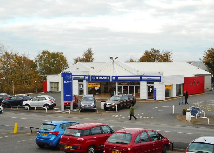 Car Showroom, Holyhead Road, Ketley, Telford