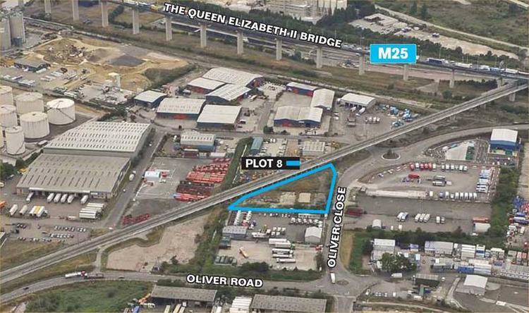 Plot 8 Thurrock Open Storage Park, Riverside Industrial Estate, Oliver Close, West Thurrock, Grays, Essex