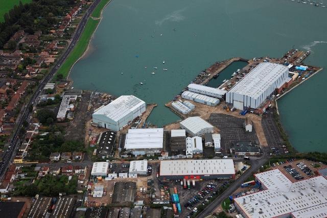 Trafalgar Wharf Open Storage Land, Southampton Road, Portsmouth