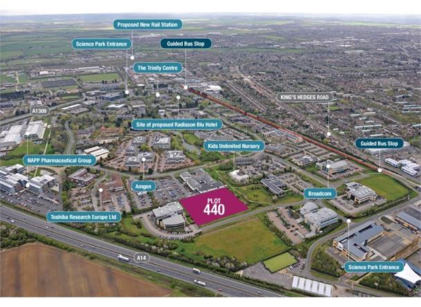 Development plot 440, Science Park, Cambridge