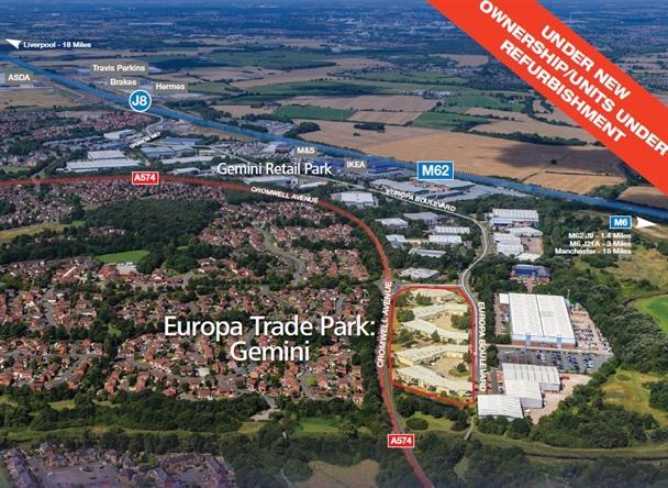 Unit 254, Europa Trade Park: Gemini, Warrington