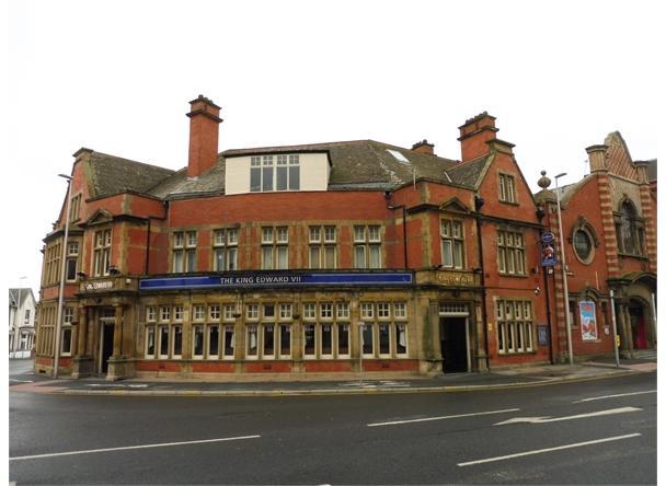 King Edward VII, Blackpool