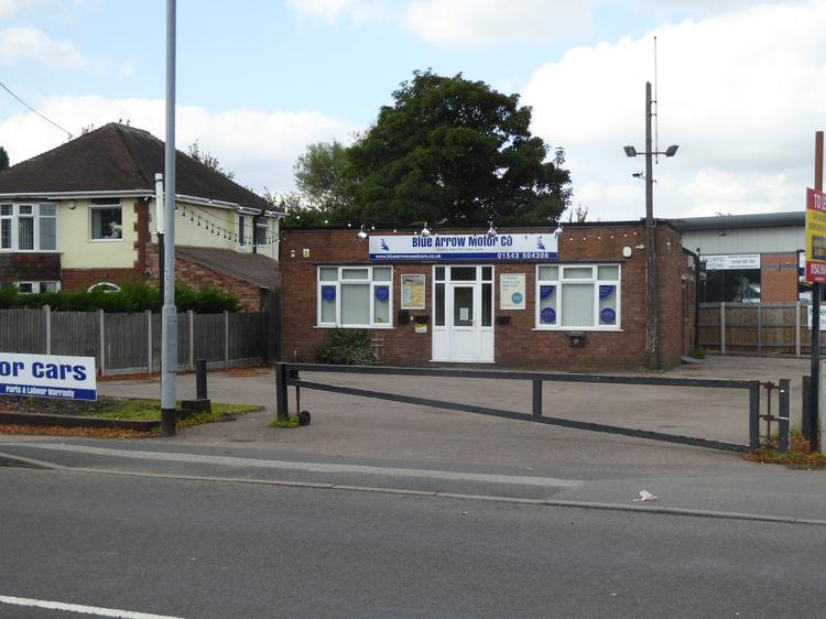 Car Sales Site, 110 Walsall Road, Cannock