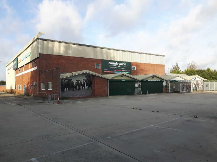 Former Countrywide Unit, Bradford Road, MELKSHAM