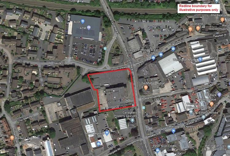 Former Dunelm Site, Bridge Road, Wellington, Telford