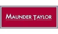 Maunder taylor logo grey red