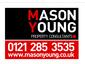 Mason young joint logo