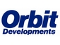 Orbit only logo (blue)