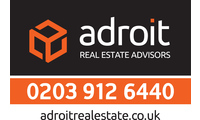 Adroit logo london