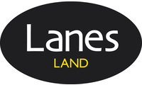 Lanes land black logo