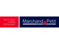 Marchand petit logo with red block cmyk without web large