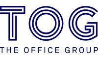 Tog logo brand blue