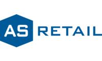 As retail   blue logo