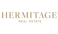 Logo hermitage real estate for change